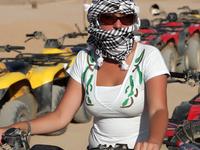 Hurghada Shore Excursion: Quad Biking in the Egyptian Desert from Hurghada