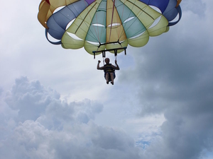 Single Parasailing in Key West Photos