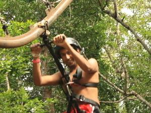 4-in-1 Tulum Adventure: Zipline, Cavern Rappel, Cave Snorkel and Skycycle Photos