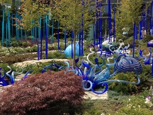 Chihuly Garden and Glass Exhibit in Seattle Photos