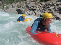 Kawarau River White Water Sledging Photos