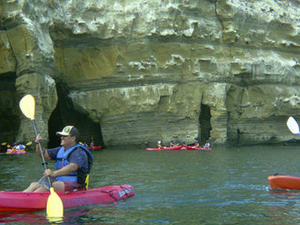 La Jolla Sea Caves Kayak Tour Photos