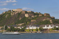 Koblenz Day Trip from Frankfurt: Ehrenbreitstein Fortress, Rhine Valley Cable Car Ride and German Dinner Photos