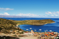 Lake Titicaca and Sun Island Catamaran Cruise from Puno Photos