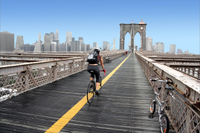 Manhattan and Brooklyn Bridge Bike Rental  Photos