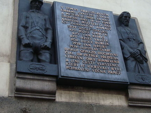 Small-Group Walking Tour of Prague's WWII and Communist History Photos