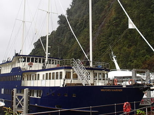 Milford Sound Mariner Overnight Cruise Photos