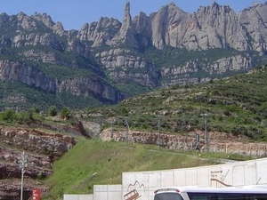 Barcelona Day Trip: Montserrat, Colonia Guell and Gaudi Crypt Photos