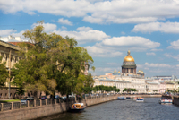 Neva River Sightseeing Cruise in St Petersburg Photos