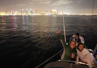 Nighttime Sailing Trip from San Diego Photos