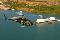Oahu Sky and Sea Combo: Helicopter Tour with Sunset Dinner Cruise or Atlantis Submarine Excursion Photos