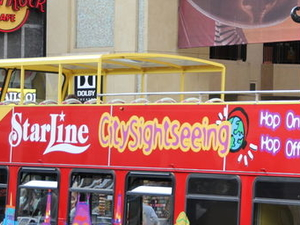 Los Angeles Hop-on Hop-off Double Decker Bus Tour Photos