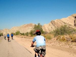 The Earthquake Canyon Bike Express Photos