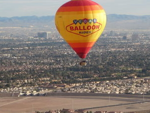 Las Vegas Sunrise Hot Air Balloon Ride Photos