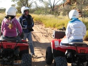 Alice Springs Quad Bike Tour Photos
