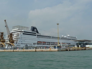 Venice Private Departure Transfer by Water Taxi: Central Venice to Cruise Port Photos