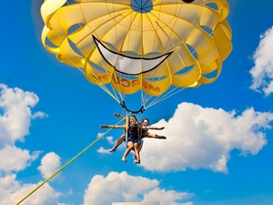 Tandem Parasailing at Disney's Contemporary Resort  Photos