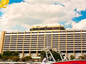Parasailing at Disney's Contemporary Resort Photos