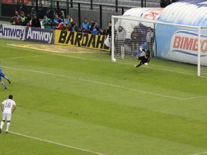 Mexico City Soccer Match at Azteca Stadium Photos