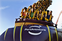 PortAventura Theme Park Ticket with Transport from Costa Brava