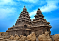 Private Cultural Tour: Day Trip to Mahabalipuram and Dakshinachitra from Chennai Photos