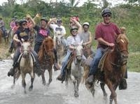 Punta Cana River Horseback Riding and Zipline Tour Photos