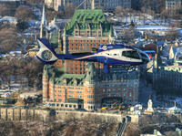 Quebec Shore Excursion: City Helicopter Tour Photos