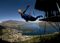 Queenstown Ledge Urban Bungy Jump Photos