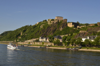 River Rhine Cruise from Koblenz to Boppard: Ehrenbreitstein Fortress and Koblenz Cable Car Photos