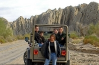 San Andreas Fault Jeep Tour Photos