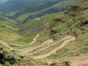 Mountain Splendor -The Kingdom of Lesotho Photos