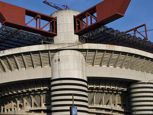 Milan Football San Siro Stadium Tour Photos