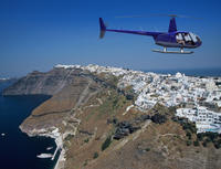 Santorini Helicopter Flight