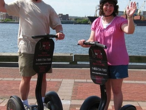 Baltimore Inner City Safari Segway Tour Photos