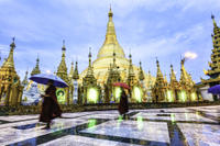 Shwedagon Pagoda Walking Tour Photos