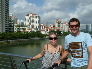 Singapore City Bike Tour Photos
