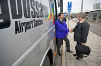 Skavsta Airport Shared Arrival Transfer Photos
