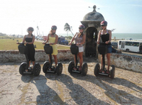 Small-Group Historical Segway Tour in Cartagena Photos