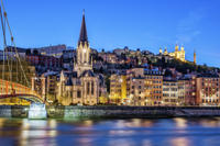 Small-Group Walking Tour: Lyon at Night Photos