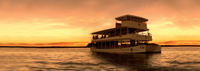 Sunset Zambezi River Cruise from Livingstone