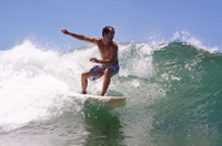 Surf Lesson in the British Virgin Islands Photos