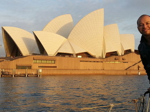 Sunrise Sailing on Sydney Harbour Photos