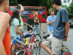 London Royal Parks Bike Tour including Hyde Park Photos