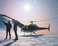 Twin Glacier Helicopter Flight departing Fox Glacier Photos