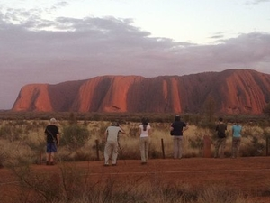 Small-Group Tour: Sunrise Over Uluru (Ayers Rock) and Base Walk with Indigenous Guide Photos