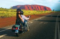 Uluru Sunrise, Base Walk and Harley Davidson Tour Photos