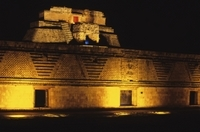 Uxmal Light and Sound Show from Merida Photos