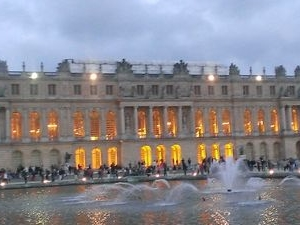 Versailles Night Fountain Show and Fireworks from Paris Photos