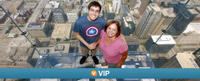 Viator VIP: Willis Tower Skydeck Early Access, Trolley City Tour and Chicago River Cruise