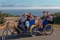 Victorian Gardens and Seaside Vistas Pedicab Tour Photos